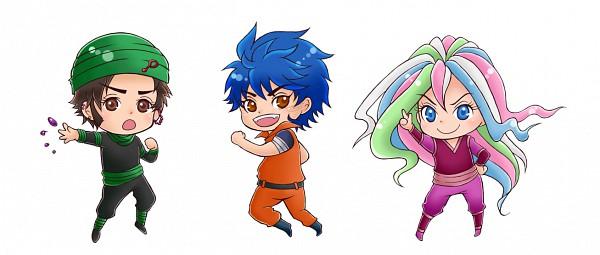 Tags: Anime, Toriko, Sani (Toriko), Toriko (Character), Coco (Toriko), Pixiv, Fanart, Shitennou