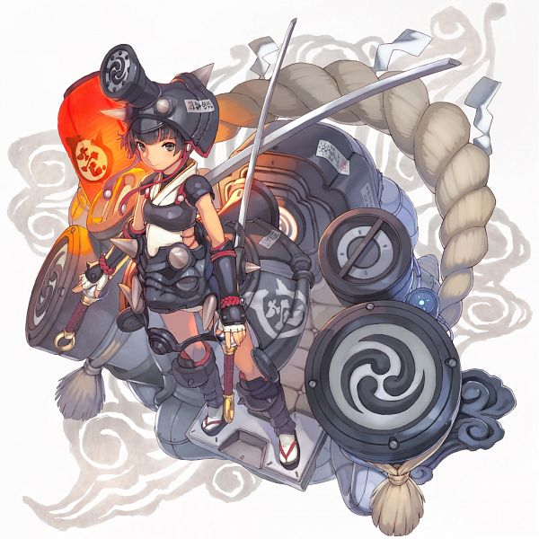 Tags: Anime, Shizuma Yoshinori, Pixiv, Original