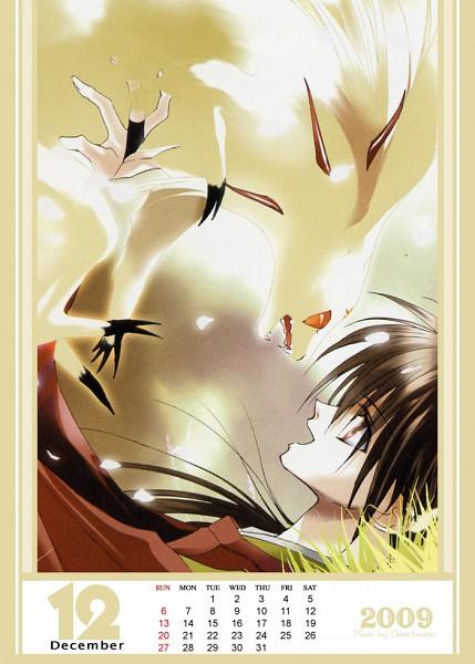 Tags: Anime, Asagi Sakura, Shonen Onmyouji, Touda, Abe No Masahiro, Calendar (Source), Calendar 2009, Teenager Onmyoji