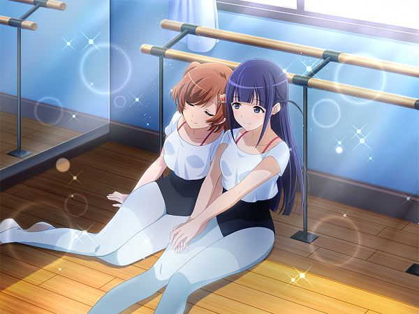 Tags: Anime, Ateam, Shoujo☆Kageki Revue Starlight, Shoujo☆Kageki Revue Starlight -ReLIVE-, Aijou Karen, Tsuyuzaki Mahiru, Official Card Illustration, Official Art, Revue Starlight Re Live