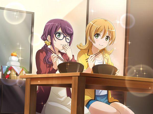 Tags: Anime, Ateam, Shoujo☆Kageki Revue Starlight, Shoujo☆Kageki Revue Starlight -ReLIVE-, Hoshimi Junna, Daiba Nana, Official Card Illustration, Official Art, Revue Starlight Re Live
