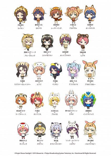Tags: Anime, Ateam, Shoujo☆Kageki Revue Starlight, Shoujo☆Kageki Revue Starlight -ReLIVE-, Aijou Karen, Nonomiya Lalafin, Tsuyuzaki Mahiru, Otonashi Ichie, Otori Michiru, Hanayagi Kaoruko, Kano Misora, Hoshimi Junna, Tomoe Tamao, Revue Starlight Re Live