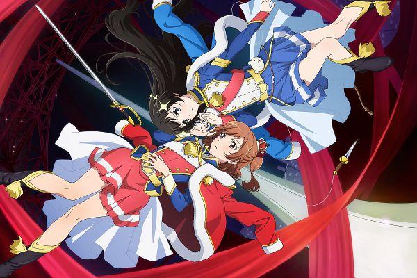 Tags: Anime, Saita Hiroyuki, Kinema Citrus, Shoujo☆Kageki Revue Starlight, Kagura Hikari, Aijou Karen, Official Art