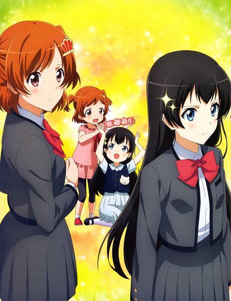 Tags: Anime, Kinema Citrus, Shoujo☆Kageki Revue Starlight, Kagura Hikari, Aijou Karen, Official Art, Scan