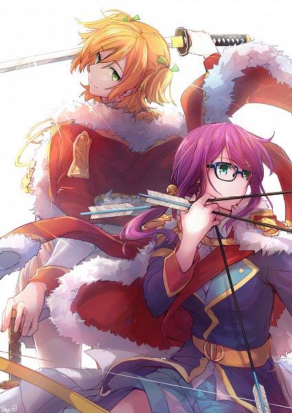 Tags: Anime, Pixiv Id 3831098, Shoujo☆Kageki Revue Starlight, Daiba Nana, Hoshimi Junna