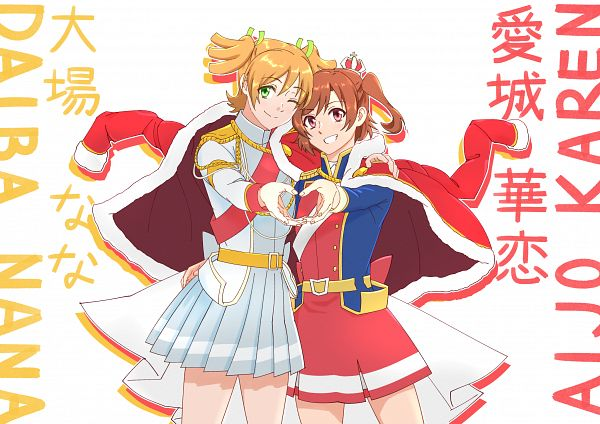 Tags: Anime, Pixiv Id 21144112, Shoujo☆Kageki Revue Starlight, Shoujo☆Kageki Revue Starlight -ReLIVE-, Daiba Nana, Aijou Karen