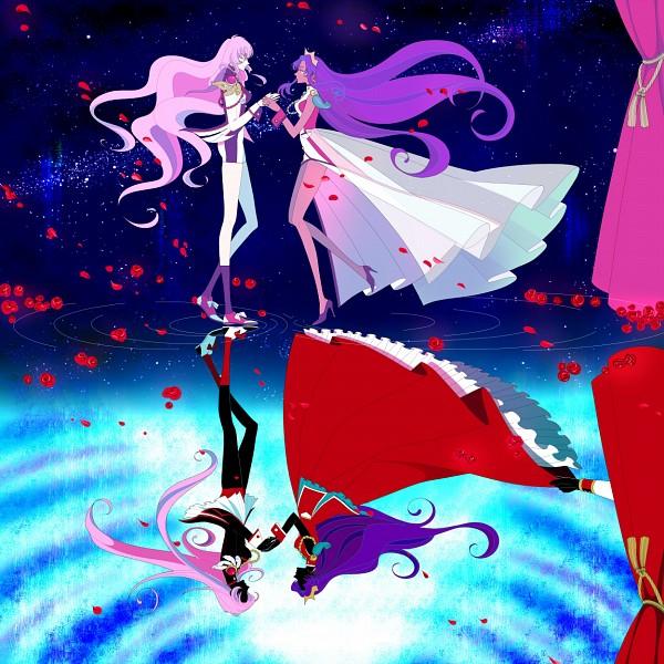 Tags: Anime, Shoujo Kakumei Utena, Himemiya Anthy, Tenjou Utena, Pixiv, Revolutionary Girl Utena