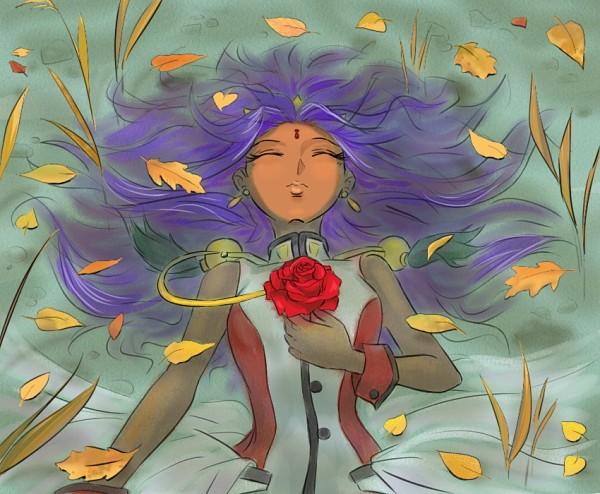 Tags: Anime, Shoujo Kakumei Utena, Himemiya Anthy, Bindi, Rose Bride, Revolutionary Girl Utena