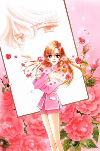 Tags: Anime, Chiho Saito, Shoujo Kakumei Utena, Shoujo Kakumei Utena : Saitou Chiho Fukusei Gengashuu, Tenjou Utena, Tomboy, Mobile Wallpaper, Scan, Official Art, Revolutionary Girl Utena