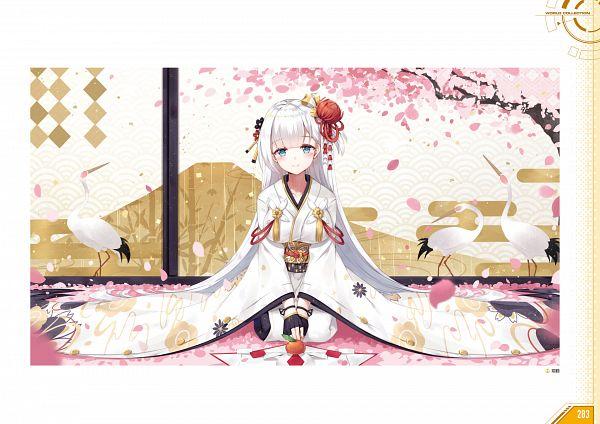 Tags: Anime, Yostar, Azur Lane - First Anniversary Art Collection, Azur Lane, Shoukaku (Azur Lane), Artist Request, Official Art