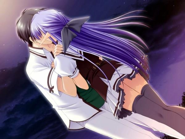 Tags: Anime, Suzuhira Hiro, Nishimata Aoi, Navel (Studio), Shuffle!, Tsuchimi Rin, Nerine (Shuffle!), CG Art