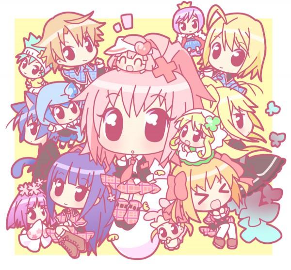 Tags: Anime, Mirai (Sugar), Shugo Chara!, Kiseki, Hoshina Utau, Daichi, Pepe, Hinamori Amu, Temari (Shugo Chara!), Yuiki Yaya, Su (Shugo Chara!), Hotori Tadase, Ran (Shugo Chara!)
