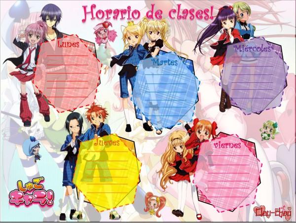 Tags: Anime, Shugo Chara!, Su (Shugo Chara!), Miki (Shugo Chara!), Souma Kukai, Hotori Tadase, Hoshina Utau, Fujisaki Nadeshiko, Tsukiyomi Ikuto, Hinamori Amu, Yuiki Yaya, Dia, Ran (Shugo Chara!)
