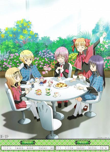 Tags: Anime, Sai Fumihide, Suzuki Shingo, Shugo Chara!, Shugo Chara! Anime Calendar 2009, Pepe, Yuiki Yaya, Kusukusu, Hinamori Amu, Hotori Tadase, Ran (Shugo Chara!), Su (Shugo Chara!), Fujisaki Nagihiko
