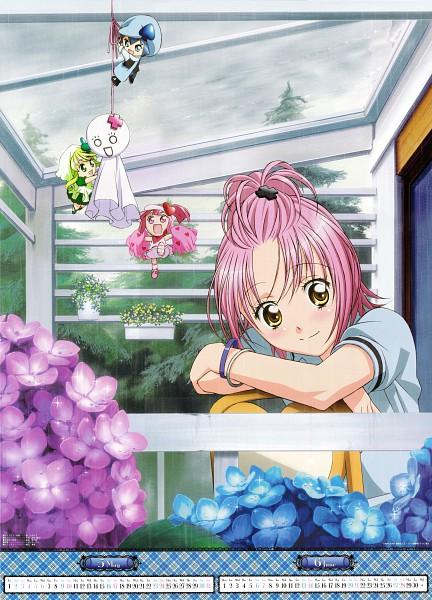 Tags: Anime, Sai Fumihide, SATELIGHT, Shugo Chara!, Shugo Chara! Anime Calendar 2009, Miki (Shugo Chara!), Hinamori Amu, Su (Shugo Chara!), Ran (Shugo Chara!), Official Art, Mobile Wallpaper, Calendar (Source), Scan