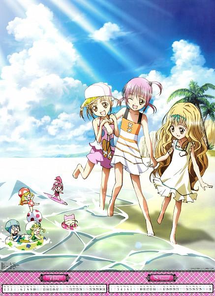 Tags: Anime, Sai Fumihide, Suzuki Shingo, SATELIGHT, Shugo Chara!, Shugo Chara! Anime Calendar 2009, Miki (Shugo Chara!), Pepe, Kusukusu, Yuiki Yaya, Hinamori Amu, Su (Shugo Chara!), Ran (Shugo Chara!)