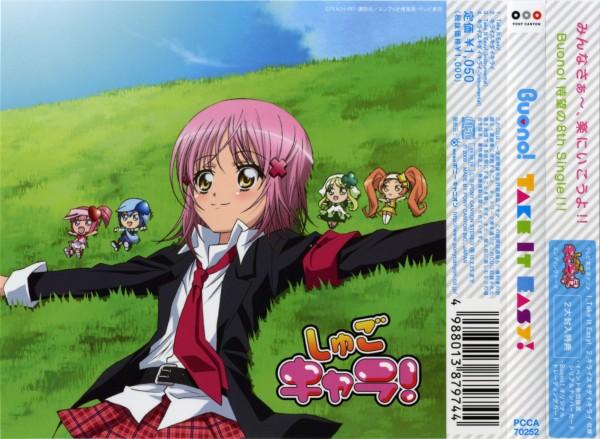 Tags: Anime, PEACH-PIT, Shugo Chara!, Su (Shugo Chara!), Dia, Hinamori Amu, Ran (Shugo Chara!), Miki (Shugo Chara!), Scan, CD (Source), Official Art