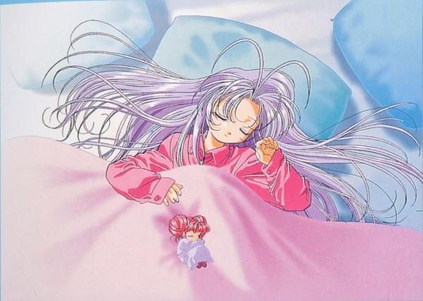 Tags: Anime, Guardian Angel Getten, Rishu, Shugogetten Shaorin, Official Art, Scan