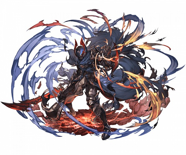 Tags: Anime, Minaba Hideo, Cygames, Granblue Fantasy, Siegfried (Granblue Fantasy), Official Art, Cover Image
