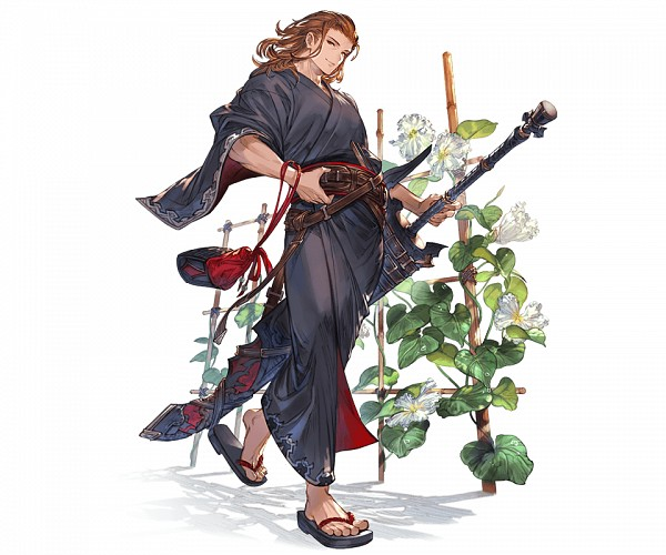 Tags: Anime, Minaba Hideo, Cygames, Granblue Fantasy, Siegfried (Granblue Fantasy), Cover Image, Official Art