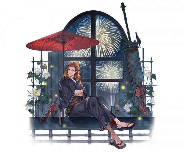 Tags: Anime, Minaba Hideo, Cygames, Granblue Fantasy, Siegfried (Granblue Fantasy), Cover Image, Official Art