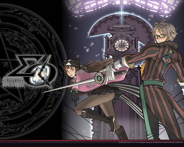 Tags: Anime, SQUARE ENIX, Sigma Harmonics