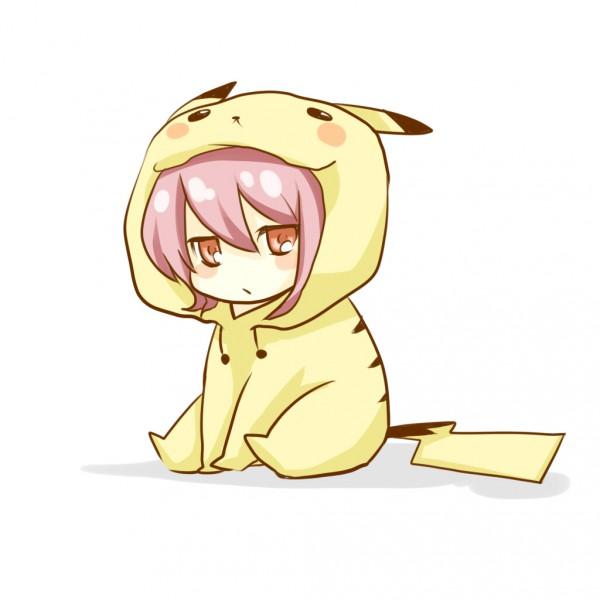 Tags: Anime, Pokémon, Silver (Pokémon), Pikachu (Cosplay)