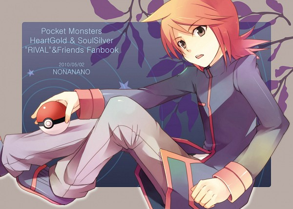 Tags: Anime, Tomone, Pokémon, Silver (Pokémon), Fanart From Pixiv, Fanart, Pixiv
