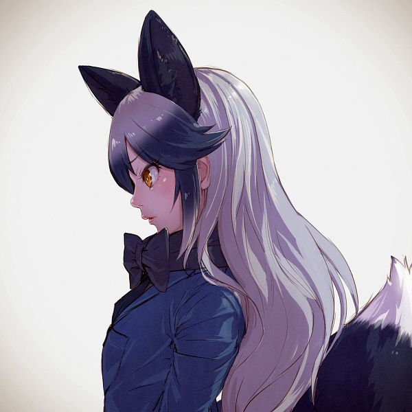 Tags: Anime, Masahiro Takami, Kemono Friends, Silver Fox (Kemono Friends), Pixiv, Fanart, Fanart From Pixiv