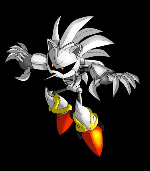 Tags: Anime, Nextgrandcross, Sonic the Hedgehog, Silver Sonic, Machine, Fanart From DeviantART, Fanart, PNG Conversion, deviantART, Wrong Conversion