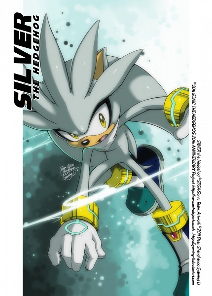 Silver the Hedgehog - Sonic '06