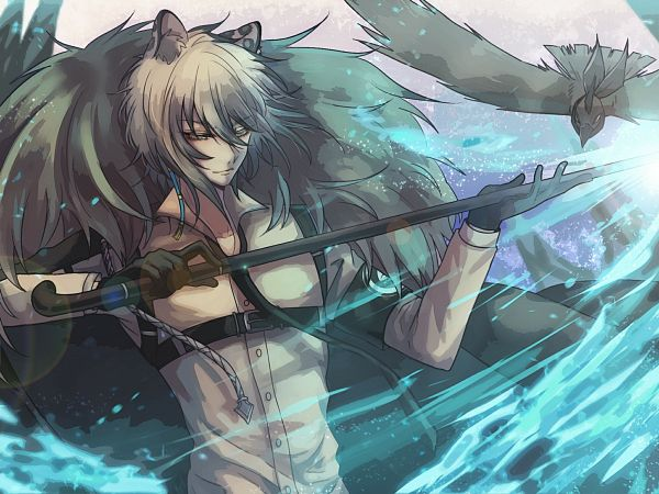 Tags: Anime, NGA, Arknights, SilverAsh, 2000x1500 Wallpaper, Wallpaper