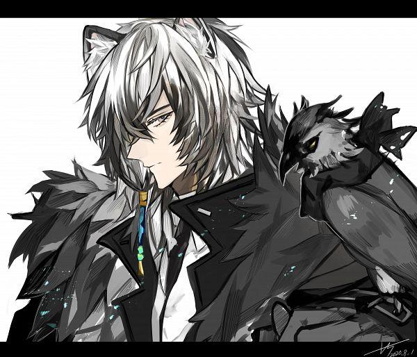 Tags: Anime, Pixiv Id 53708666, Arknights, SilverAsh, Hyoumimi, Fanart From Pixiv, Pixiv, Fanart