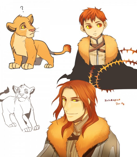 Tags: Anime, Pixiv Id 2054000, The Lion King, Simba, Disney, Pixiv