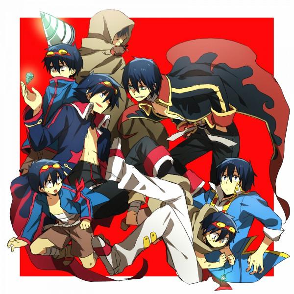 Tags: Anime, Abaraya, Tengen Toppa Gurren-Lagann, Boota, Simon (Tengen Toppa Gurren-Lagann), Drill, Tengen Toppa Gurren-Lagann: After Timeskip
