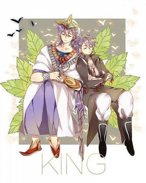 Tags: Anime, Pixiv Id 10463051, MAGI: The Labyrinth of Magic, Sinbad, 1600x2000 Wallpaper, Pixiv, Wallpaper, Fanart