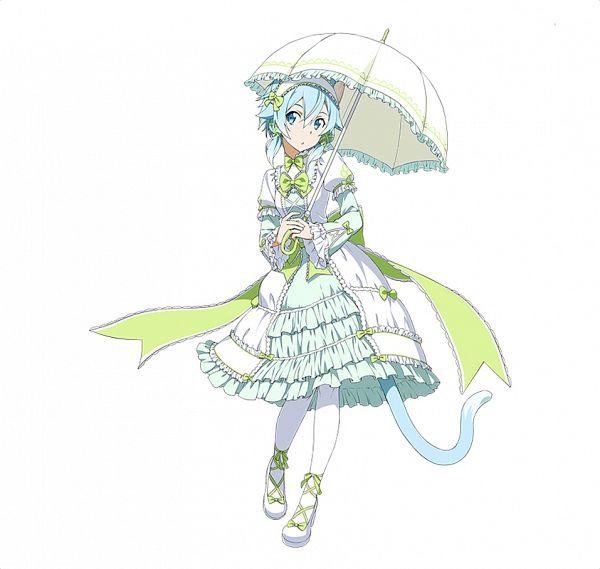 Tags: Anime, Bandai Namco Entertainment, Sword Art Online, Sword Art Online: Code Register, Sinon (ALO), Asada Shino, Official Art, PNG Conversion