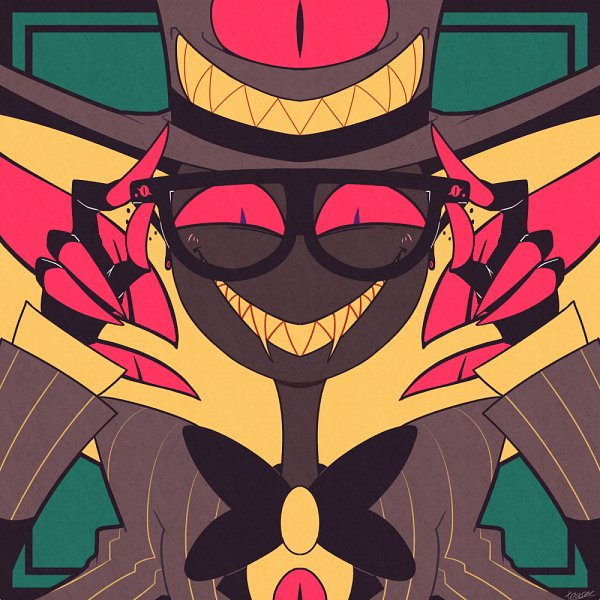 Tags: Anime, Pixiv Id 141001, Hazbin Hotel, Sir Pentious, Fanart From Pixiv, Pixiv, Fanart