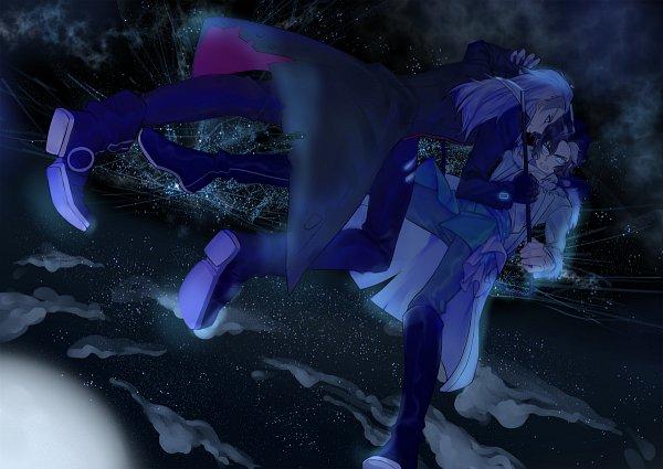 Tags: Anime, Pixiv Id 4003689, Sirius the Jaeger, Mikhail (Sirius The Jaeger), Yuliy, Fanart From Pixiv, Pixiv, Fanart