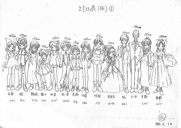 Tags: Anime, Sister Princess, Kaho, Sakuya (Sister Princess), Aria (Sister Princess), Mamoru (Sister Princess), Minakami Wataru, Karen (Sister Princess), Haruka (Sister Princess), Hinako (Sister Princess), Shirayuki, Yotsuba (Sister Princess), Rinrin (Sister Princess)