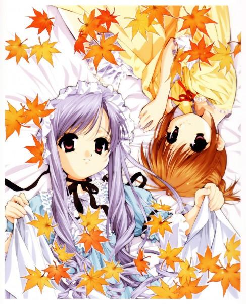 Tags: Anime, Tenhiro Naoto, Sister Princess, Art of Sister Princess I, Aria (Sister Princess), Hinako (Sister Princess)