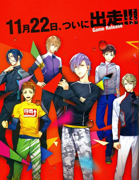 Tags: Anime, Six Sicks, Araki Syunta, Official Art, Scan, Character Request, B's LOG, Mobile Wallpaper, Magazine (Source), Magazine Page, Self Scanned