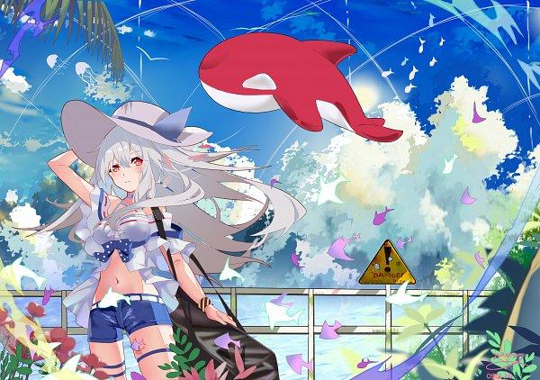 Tags: Anime, Pixiv Id 34550278, Arknights, Skadi (Arknights), Fanart, Fanart From Pixiv, Pixiv