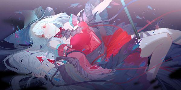 Tags: Anime, Pixiv Id 12234838, Arknights, Skadi (Arknights), Skadi The Corrupting Heart, 2:1 Ratio, Pixiv, Fanart, Fanart From Pixiv