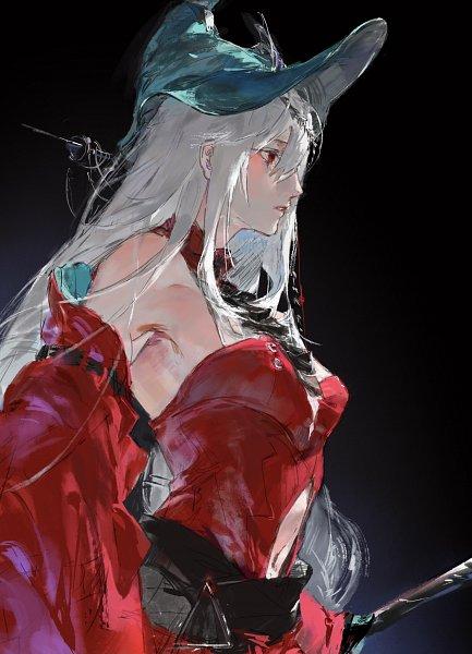 Tags: Anime, King17, Arknights, Skadi The Corrupting Heart, Skadi (Arknights), Lofter