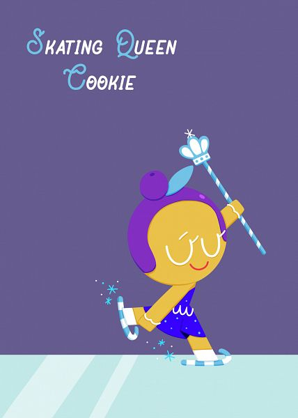 Tags: Anime, Pixiv Id 30503181, Cookie Run, Skating Queen Cookie, Ice Skating, Ice Skates, Fanart From Tumblr, Fanart, Tumblr