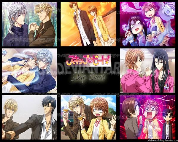 Tags: Anime, Skip Beat!, Shoutarou Fuwa, Tsuruga Ren, Reino (Skip Beat!), Mogami Kyoko, Kotonami Kanae, Yashiro Yukihito