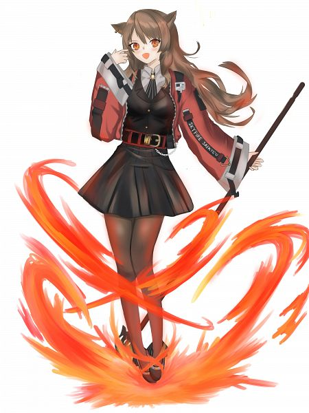 Tags: Anime, Pixiv Id 50126744, Arknights, Skyfire (Arknights)