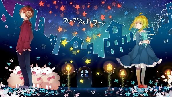 Sky Walk Boards : Sleep sky walk vocaloid zerochan anime image board