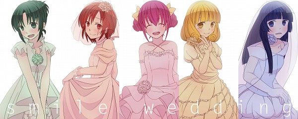 Tags: Anime, Hirune, Smile Precure!, Midorikawa Nao, Hino Akane, Hoshizora Miyuki, Kise Yayoi, Aoki Reika, Facebook Cover